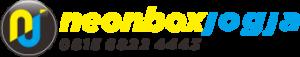 logo neon box jogja